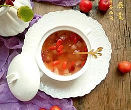 蔓越莓雪梨桃胶雪燕羹#快手又营养,我家的冬日必备菜品#的做法