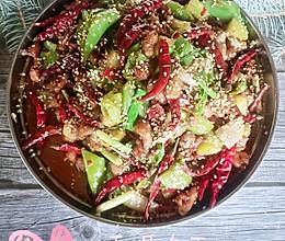 #美食视频挑战赛# 干锅鸡丁,能吃两大碗饭的做法