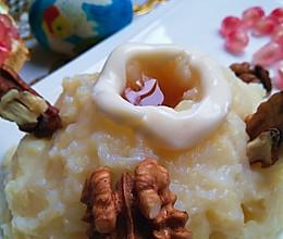 蜂蜜土豆泥(富士山)#比暖男更暖的是#的做法
