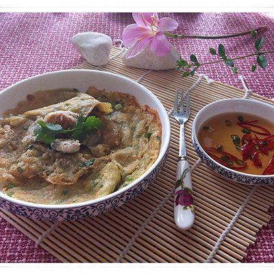 舌尖上的中国—潮汕特色小吃《蚝仔烙》