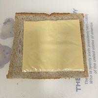 营养美味的芝士肉松三明治(含折纸法)的做法图解5