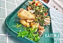 #一人一道拿手菜# 原来好吃的藤椒鸡只要一刻钟的做法