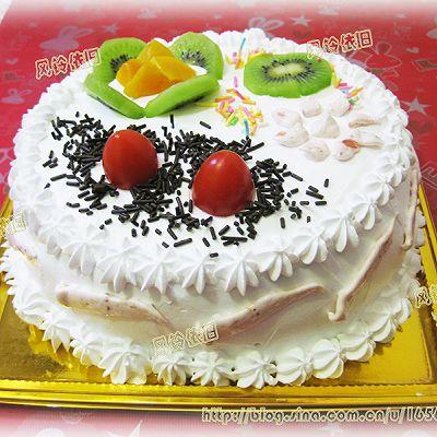 蛋糕十月促销图片素材