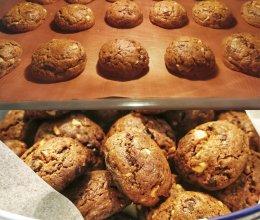 巧克力核桃曲奇饼干的做法