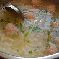 萝卜丝丸子汤的做法图解9