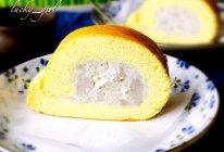 香芋蛋糕卷的做法