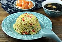 炒饭紫菜虾汤#急速早餐#的做法