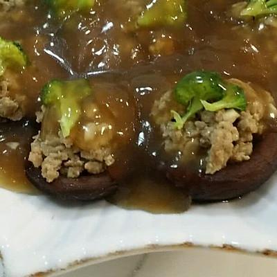 香菇肉末盏