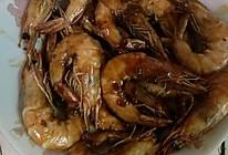 蒜香生抽油焖虾的做法