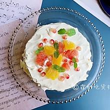 水果雪崩蛋糕