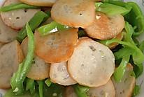 青椒炒鱼饼的做法