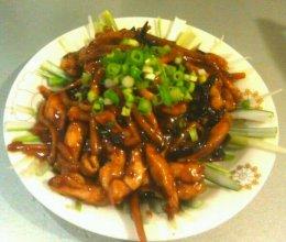 京酱鸡丝新吃的做法