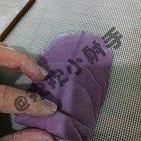 紫薯玫瑰花馒头的做法图解11