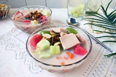 夏日不爱吃饭?来一碗冰冰凉凉奶茶冰饭吧