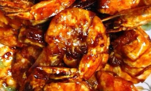 小朋友绝对爱吃的犒大虾的做法