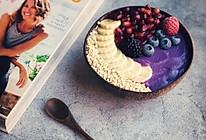 #春季减肥,边吃边瘦#紫罗兰思慕雪的做法