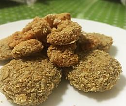 芋头鲜虾燕麦饼(非油炸)的做法