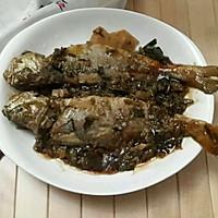 雪菜冬笋烧黄鱼