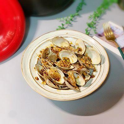 蒜香烤蛤蜊