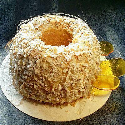 脆糖杏仁维也纳蛋糕