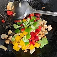 彩椒鸡丁#花10分钟,做一道菜!#的做法图解7