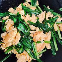 韭菜炒鸡蛋——不生不塌 香熟饱满的秘诀的做法图解7