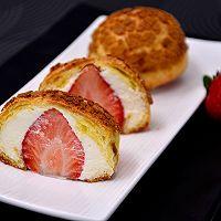 【草莓酥皮泡芙】——草莓季系列美食的做法图解21