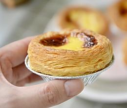 爆酥红豆蛋挞的做法