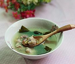 海带黄豆排骨汤——利仁电火锅试用菜谱(一)的做法