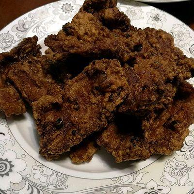 山东潍坊五香炸肉