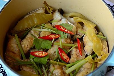 """""""非传统""""的海鳗做法——【海鳗煲】"""