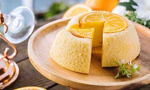 香橙蒸蛋糕的做法