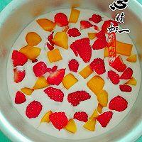 樱花水果慕斯蛋糕#浪漫樱花季#的做法图解10