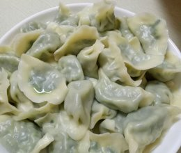 韭菜馅水饺的做法