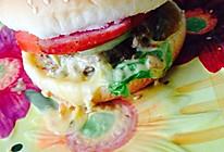 培根芝士牛肉汉堡的做法