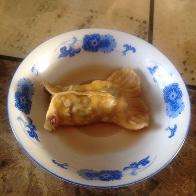 大喜大牛肉粉试用之---年年有余(三鲜蒸饺)的做法 步骤12