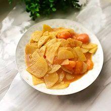 西红柿炒土豆片#盛年锦食.忆年味#