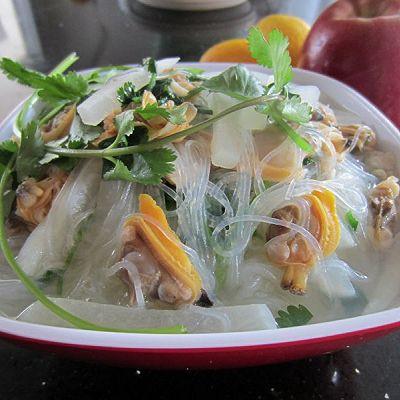 萝卜粉丝蛤蜊汤