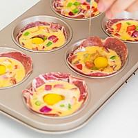 杂蔬鸡蛋杯的做法图解7