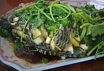 清蒸福寿鱼的做法