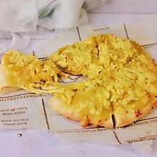 #今天吃什么# 榴莲披萨