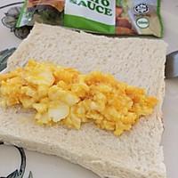 鸡蛋面包卷