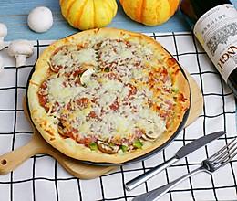 萨拉米香肠披萨的做法