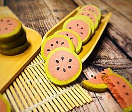 #快手又营养,我家的冬日必备菜品#西瓜小饼干的做法