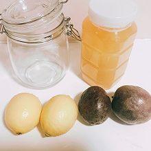 蜂蜜百香果柠檬汁