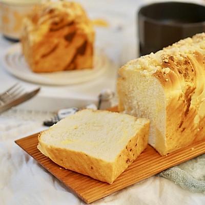 创意吐司|酥香软糯的奶酥粒吐司