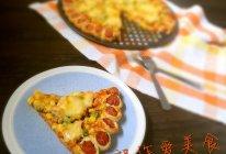 不发面让你做出好吃香肠卷边披萨的做法