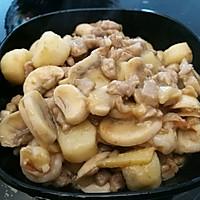 骨汤炖山药白菇