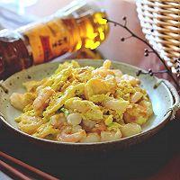 滑蛋虾仁#金龙鱼外婆乡小榨菜籽油 我要上春碗#