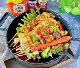 #一勺葱伴侣,成就招牌美味#开心串串香吃到撑也不长肉的做法